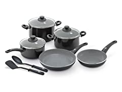 GreenPan 10-Pc Cookware Set - Black