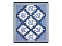 UNC Quilted Throw