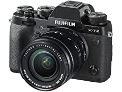 Fujifilm X-T2 Digital Camera w/ 18-55mm Lens
