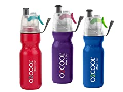 O2 Cool Drinking and Misting Bottle