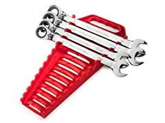 GearWrench 4-Piece Reversible Combination Wrench Set