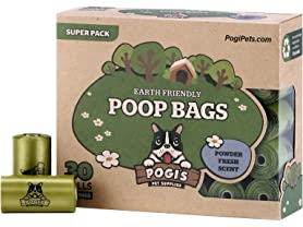 Pogi's Poop Bags - 30 Rolls (450 Bags)