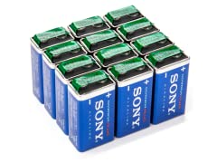 9V STAMINA PLUS Batteries - 12 Pack
