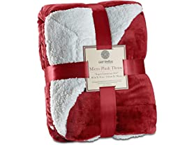 Genteele Sherpa Throw Blanket Super Soft