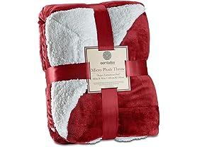 Genteele Sherpa Throw Blanket Super Soft