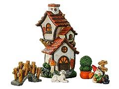 Cottage Miniature Fairy Garden Set