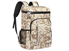 SEEHONOR Camo Insulated Cooler Backpack