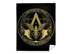 Assassins Club Mink Fleece Blanket