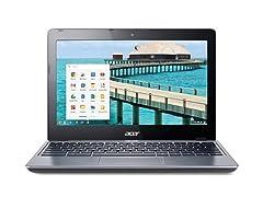 """Acer C720-2844 11.6"""" 16GB Chromebook"""