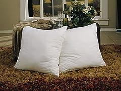 Euro Square Pillows - 2Pk