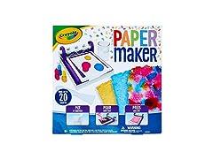 Crayola Paper Maker, Paper Making