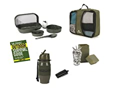 Survival 5 Piece Camp Set in Carrying Case