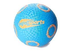 OGLO Blue/Orange Grip Ball