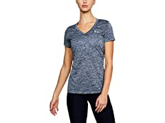 Women's UA Tech Twist V-Neck T-Shirt