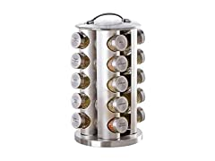Kamenstein 20 Jar Revolving Spice Tower
