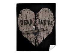 """""""Dead Inside"""" Mink Fleece Blanket"""