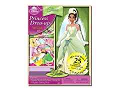 Disney Tiana 25 Piece Wood Magnetic Play Doll