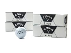 Callaway Solaire Golf Balls 12-Pack