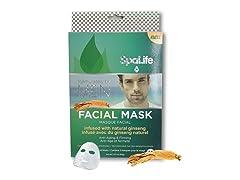Spa Life Mens Facial Masks-6 Treatments