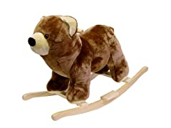 Bear Plush Rocking Animal