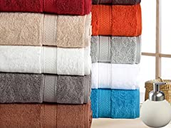 100% Cotton 16-PC Luxury Towel Set