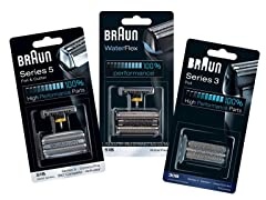 Braun Electric Shaver Replacement Heads
