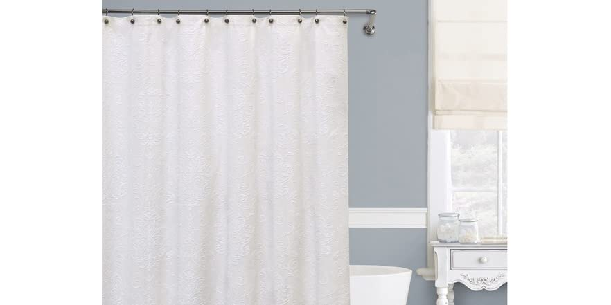 lamont isabella shower curtain 5 sizes home kitchen