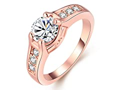 Swarovski Crystal Pave Classic Ring