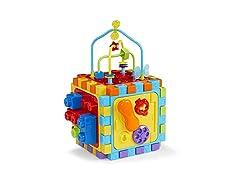 Bruin 6 Way Activity Cube, Multi