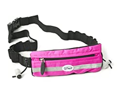 FuelBelt Slim Pocket Race Number - Pink