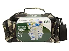 Lifeline Camouflage 135pc. First Aid Kit