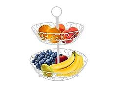 Sorbus 2 Tier Countertop Fruit Basket