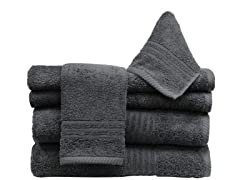 6Pc Towel Set-Sable