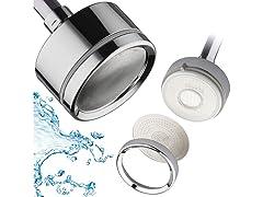 DreamSpa LaserJet Shower Head with Water Filter