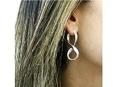 Yeidid Women's Infinity Hoop Earrings