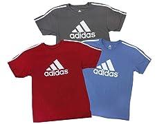 Boy's Branded 3-Stripe S/S T-shirt