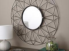 "35"" Modern Wall Mirror"