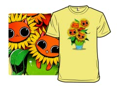 Sunflower Kittens