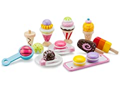 Ice Cream Selection Childrens Playset