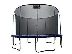 "11Ft. ""SKYTRIC"" Trampoline & Top Ring Enclosure"