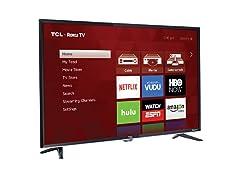 """TCL 3800 Series 32"""" TCL Smart Roku HDTV"""
