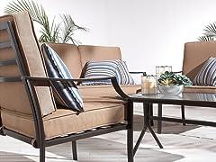 Strathwood 4-Piece All-Weather Furniture Set