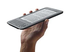 "Kindle Keyboard 6"" 3G + Wi-Fi E-Reader"