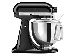 KitchenAid 5-Quart Tilt-Head Stand Mixer, Onyx Black