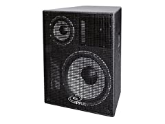 "12"" Heavy Duty 3-Way Stage Monitor Speaker Cabinet"