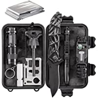 Army Gear 10-in-1 Essential Emergency Survival & Camping Kit