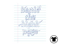 Battle the blank page