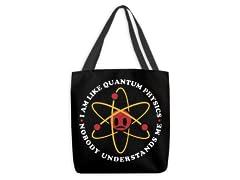 Nobody Understands Me Large Tote Bag