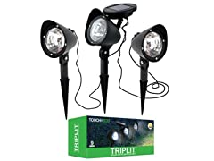 TRIPLIT Solar 3-1 Spotlight Set