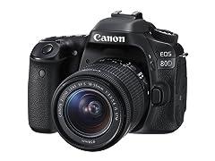 Canon EOS 80D DSLR 24mp w/ 18-55m Lens
